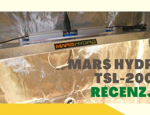 Recenzja lampy led Mars Hydro TSL 2000 test